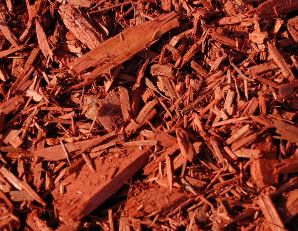 red-colored-mulch